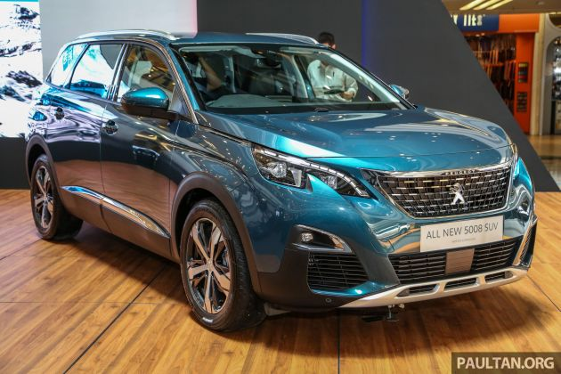 2018 peugeot 5008 launched in malaysia rm174k. Black Bedroom Furniture Sets. Home Design Ideas