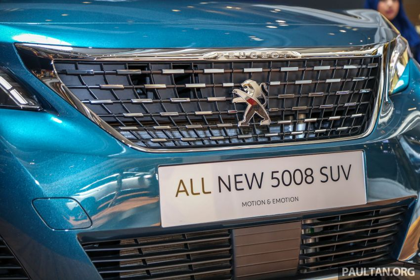 2018 Peugeot 5008 launched in Malaysia – RM174k Image #811206