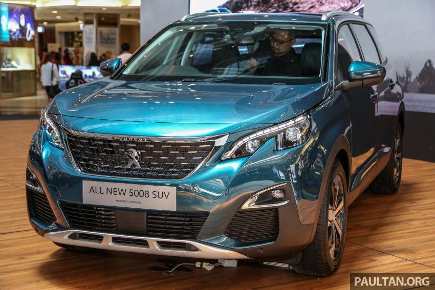 2018 Peugeot 5008 launched in Malaysia – RM174k Image #811193