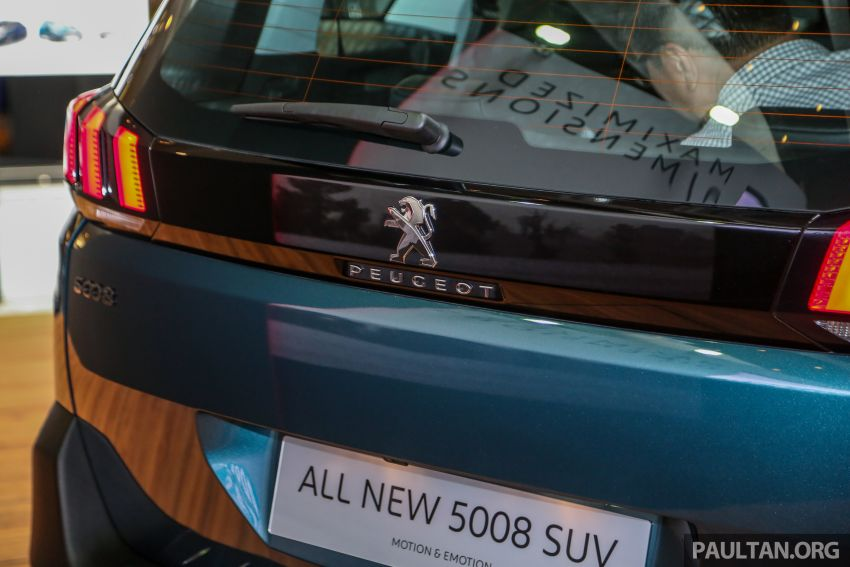 2018 Peugeot 5008 launched in Malaysia – RM174k Image #811226