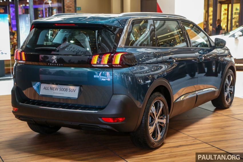 2018 Peugeot 5008 launched in Malaysia – RM174k Image #811194