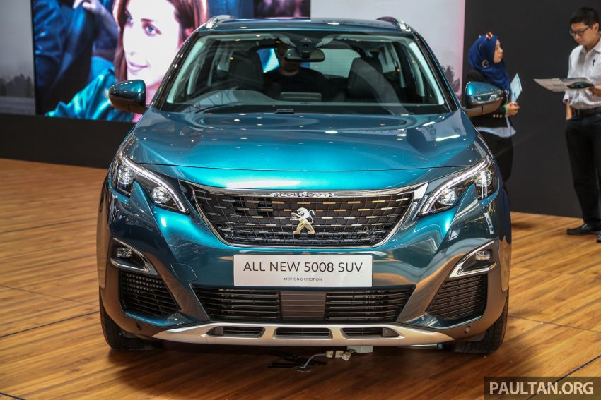 2018 Peugeot 5008 launched in Malaysia – RM174k Image #811195