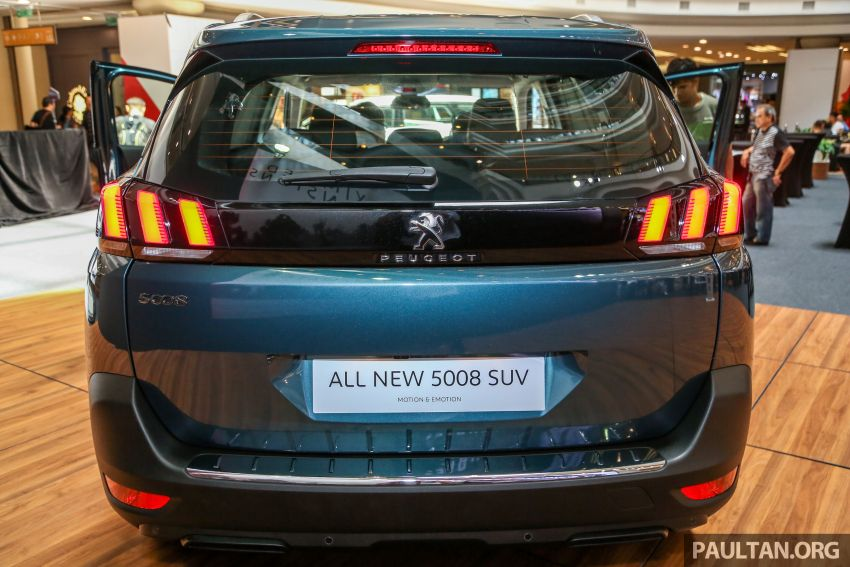 2018 Peugeot 5008 launched in Malaysia – RM174k Image #811197