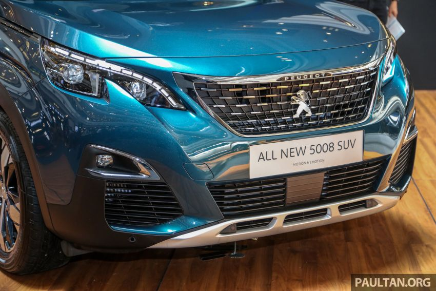 2018 Peugeot 5008 launched in Malaysia – RM174k Image #811199