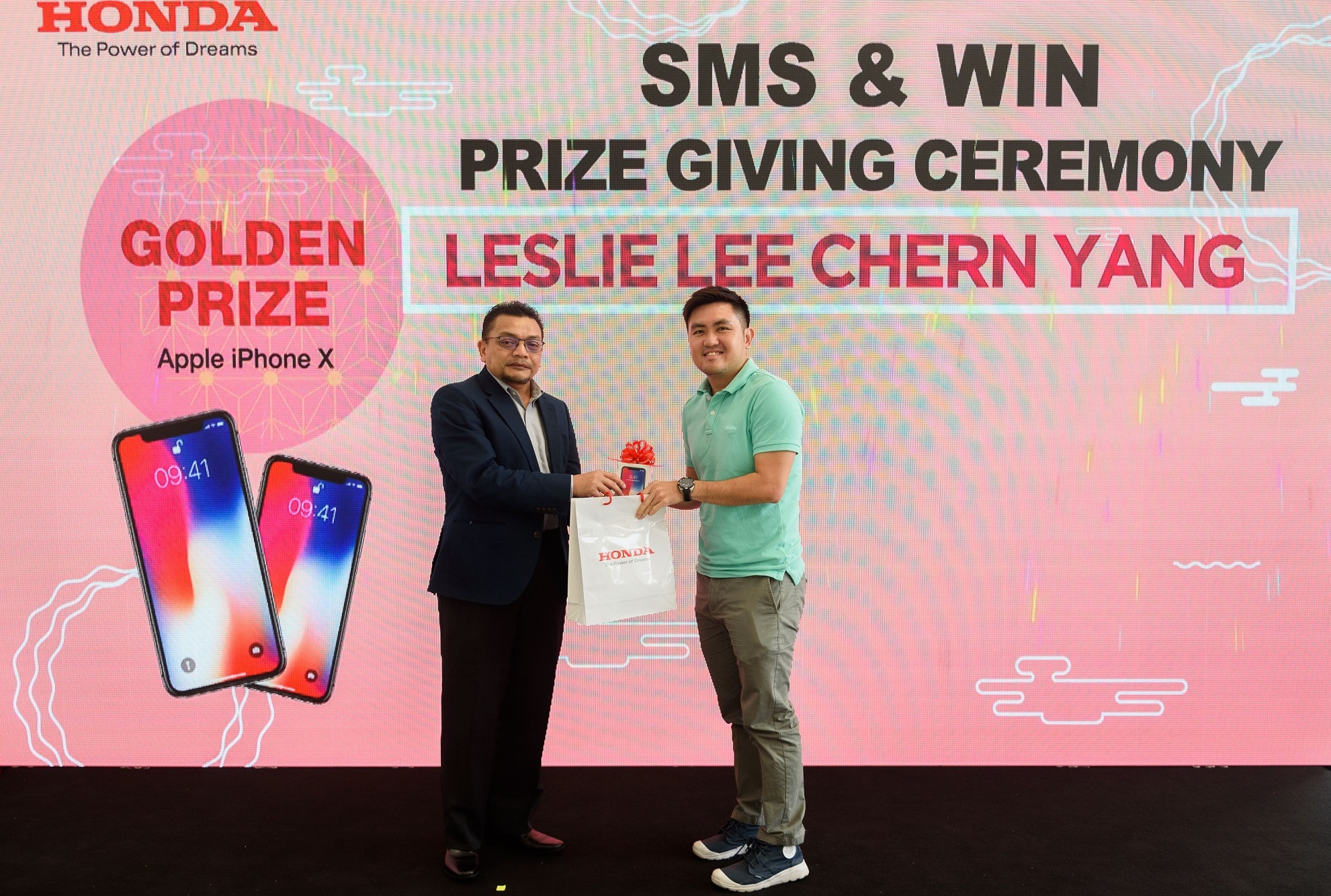 Honda Malaysia presents new Jazz, other prizes to Chinese New Year