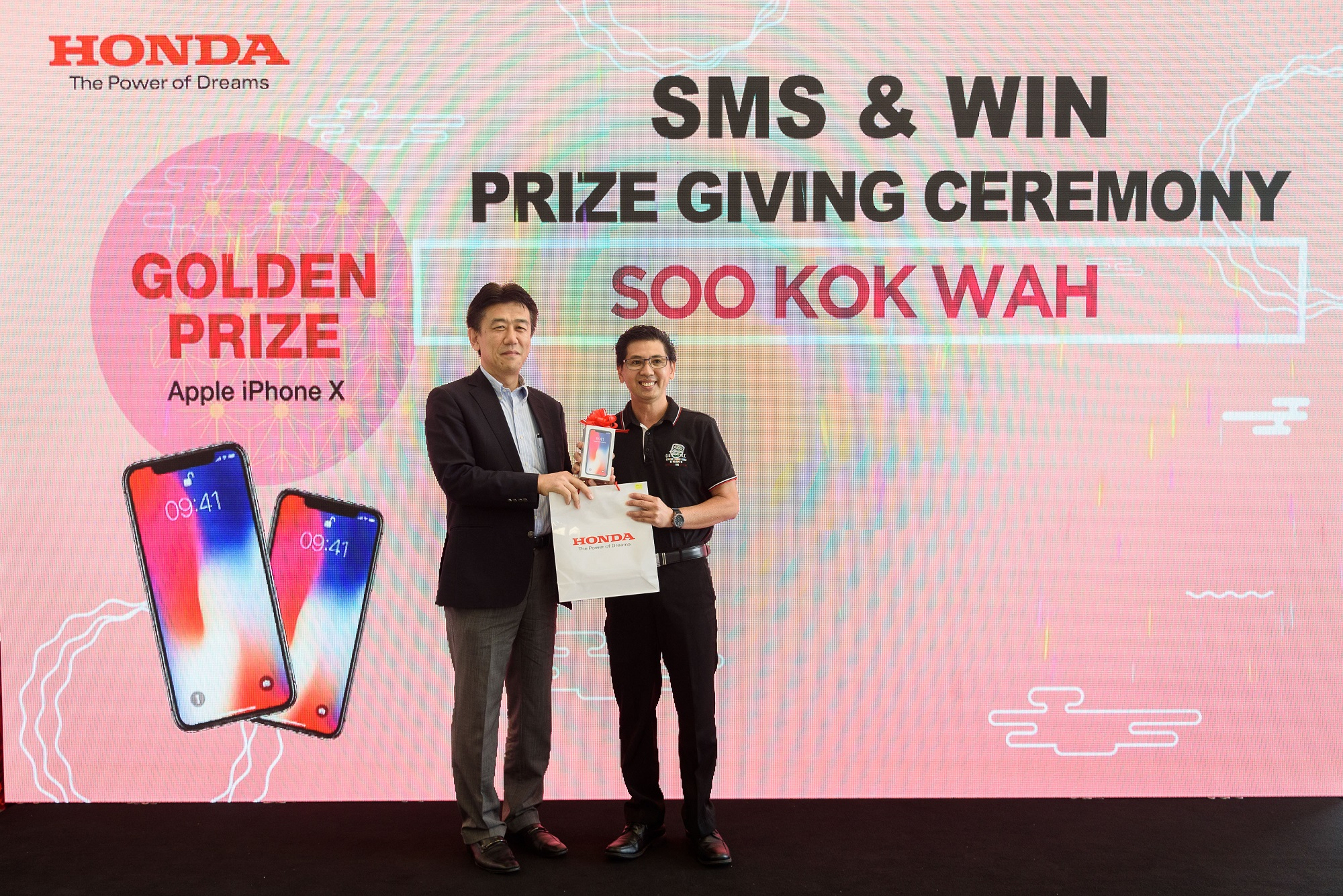 Honda Malaysia presents new Jazz, other prizes to Chinese
