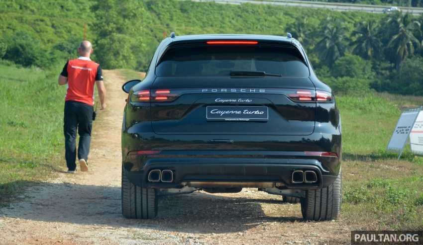DRIVEN: E3 Porsche Cayenne tested on- and off-road – new brake technology, four-wheel steering and more Image #802596
