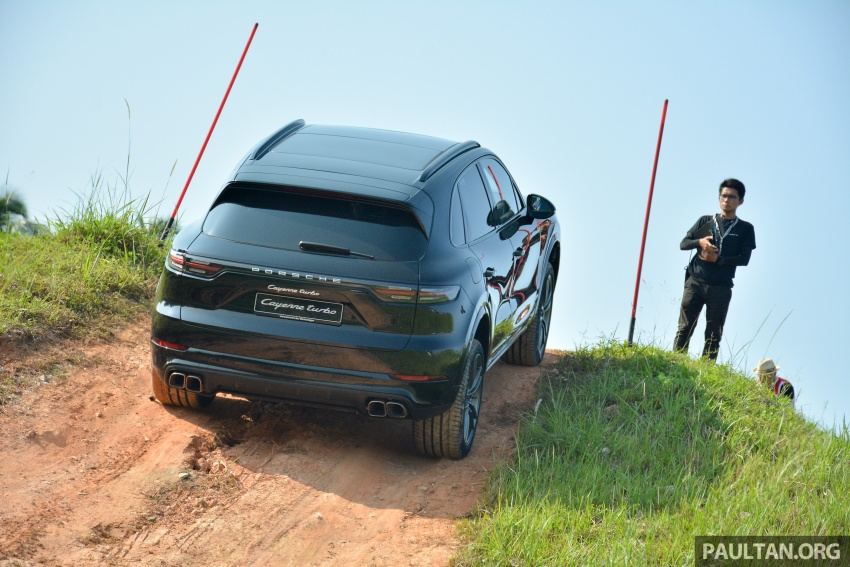 DRIVEN: E3 Porsche Cayenne tested on- and off-road – new brake technology, four-wheel steering and more Image #802597