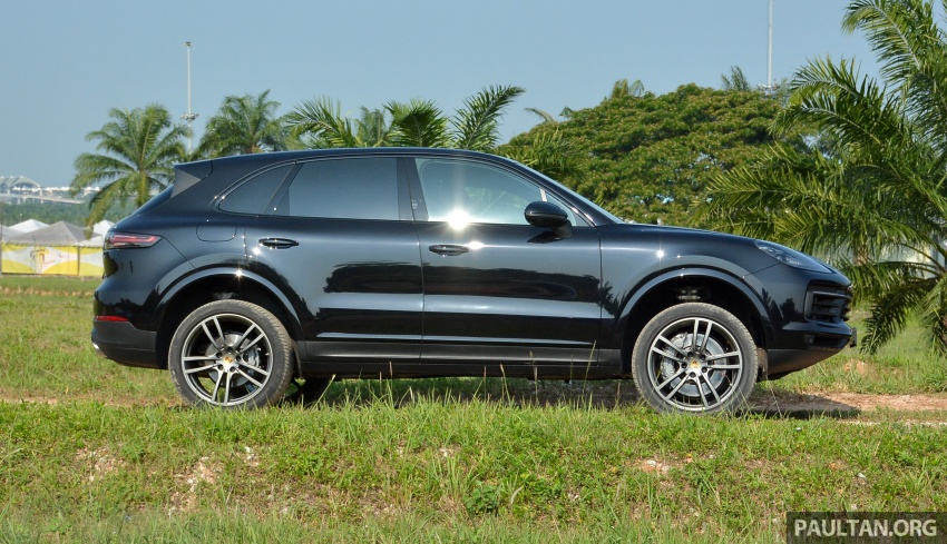 DRIVEN: E3 Porsche Cayenne tested on- and off-road – new brake technology, four-wheel steering and more Image #802599