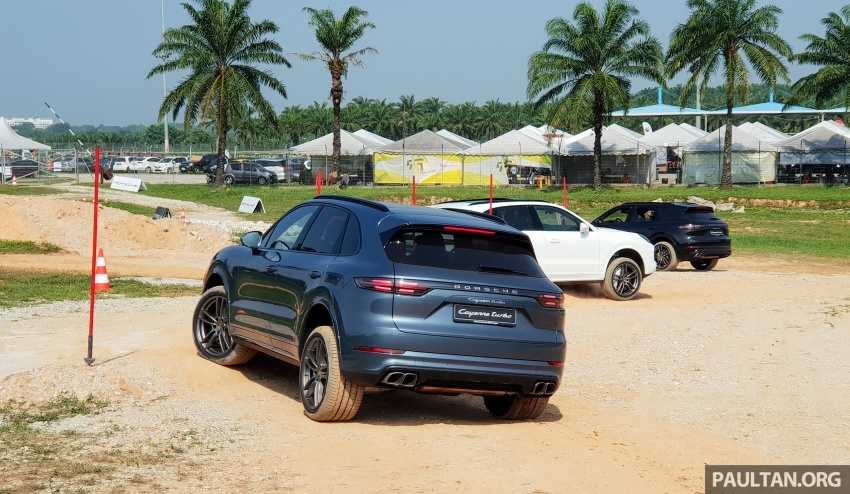 DRIVEN: E3 Porsche Cayenne tested on- and off-road – new brake technology, four-wheel steering and more Image #802601