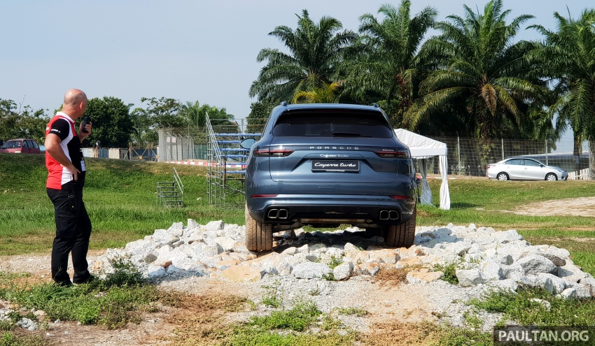 DRIVEN: E3 Porsche Cayenne tested on- and off-road – new brake technology, four-wheel steering and more Image #802602