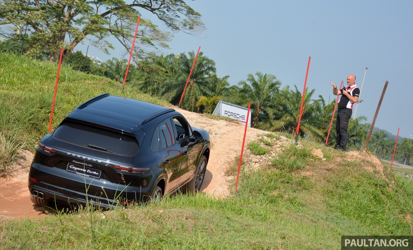 DRIVEN: E3 Porsche Cayenne tested on- and off-road – new brake technology, four-wheel steering and more Image #802603