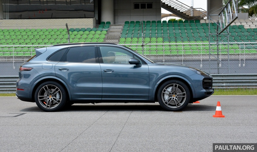 DRIVEN: E3 Porsche Cayenne tested on- and off-road – new brake technology, four-wheel steering and more Image #802608