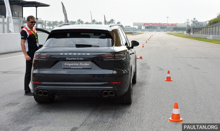 DRIVEN: E3 Porsche Cayenne tested on- and off-road – new brake technology, four-wheel steering and more Image #802614