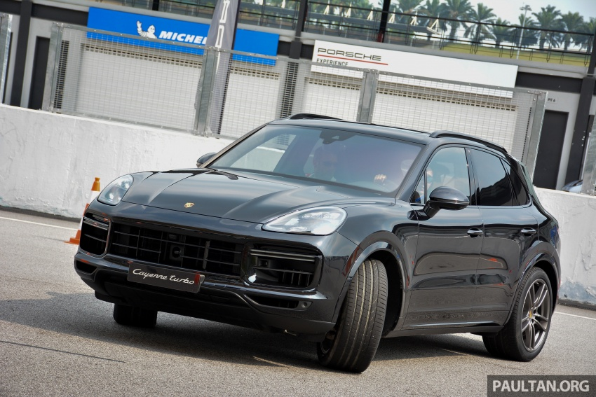 DRIVEN: E3 Porsche Cayenne tested on- and off-road – new brake technology, four-wheel steering and more Image #802616