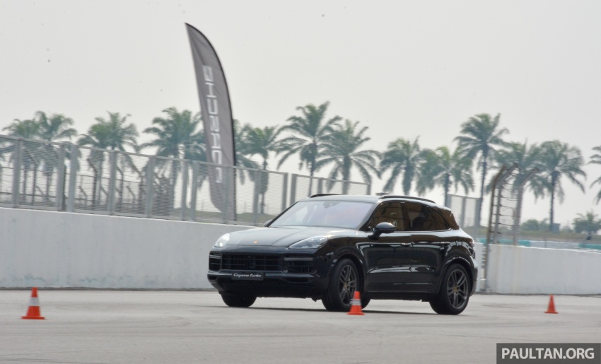 DRIVEN: E3 Porsche Cayenne tested on- and off-road – new brake technology, four-wheel steering and more Image #802617