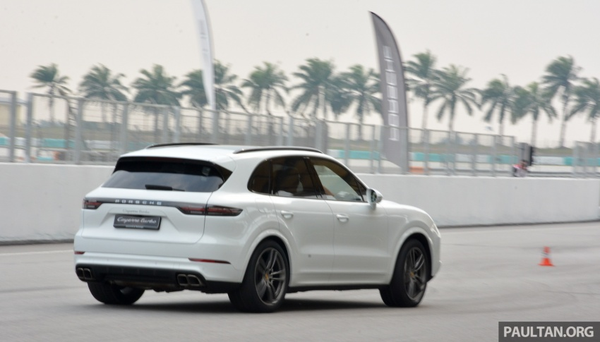 DRIVEN: E3 Porsche Cayenne tested on- and off-road – new brake technology, four-wheel steering and more Image #802618