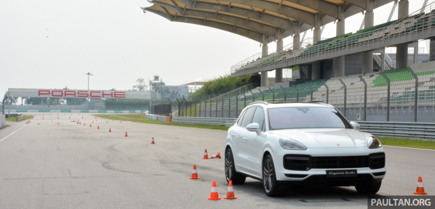 DRIVEN: E3 Porsche Cayenne tested on- and off-road – new brake technology, four-wheel steering and more Image #802621