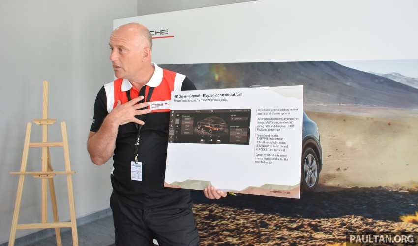 DRIVEN: E3 Porsche Cayenne tested on- and off-road – new brake technology, four-wheel steering and more Image #802581