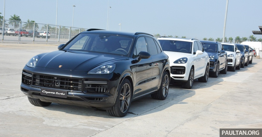 DRIVEN: E3 Porsche Cayenne tested on- and off-road – new brake technology, four-wheel steering and more Image #802582