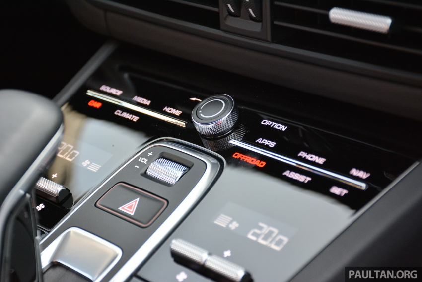 DRIVEN: E3 Porsche Cayenne tested on- and off-road – new brake technology, four-wheel steering and more Image #802584