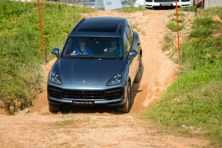 DRIVEN: E3 Porsche Cayenne tested on- and off-road – new brake technology, four-wheel steering and more Image #802634