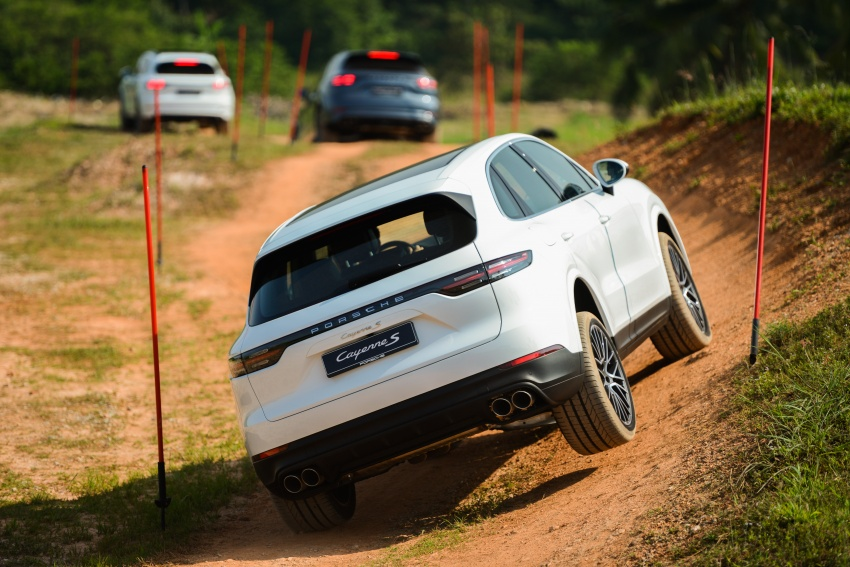 DRIVEN: E3 Porsche Cayenne tested on- and off-road – new brake technology, four-wheel steering and more Image #802635