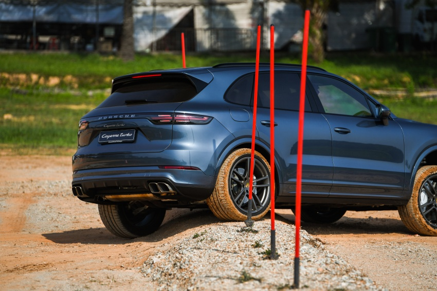 DRIVEN: E3 Porsche Cayenne tested on- and off-road – new brake technology, four-wheel steering and more Image #802636