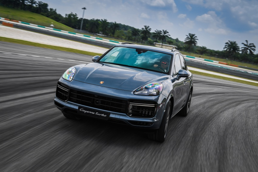 DRIVEN: E3 Porsche Cayenne tested on- and off-road – new brake technology, four-wheel steering and more Image #802639