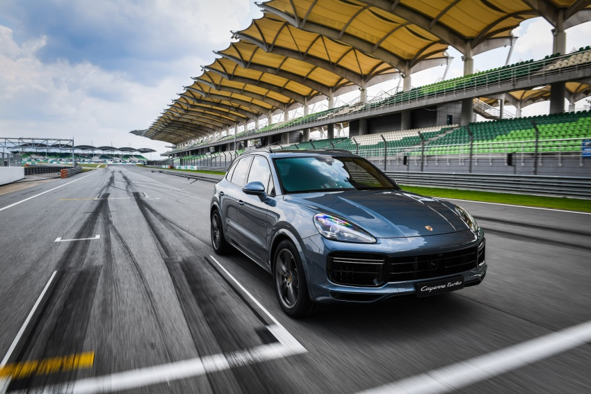DRIVEN: E3 Porsche Cayenne tested on- and off-road – new brake technology, four-wheel steering and more Image #802640