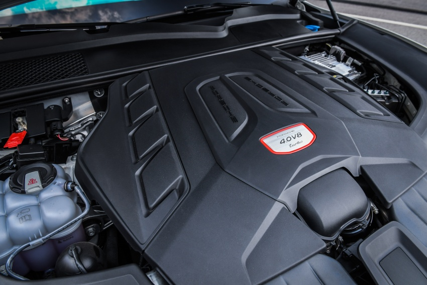 DRIVEN: E3 Porsche Cayenne tested on- and off-road – new brake technology, four-wheel steering and more Image #802646