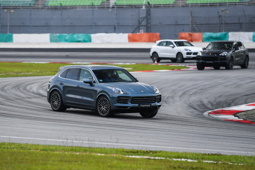 DRIVEN: E3 Porsche Cayenne tested on- and off-road – new brake technology, four-wheel steering and more Image #802648