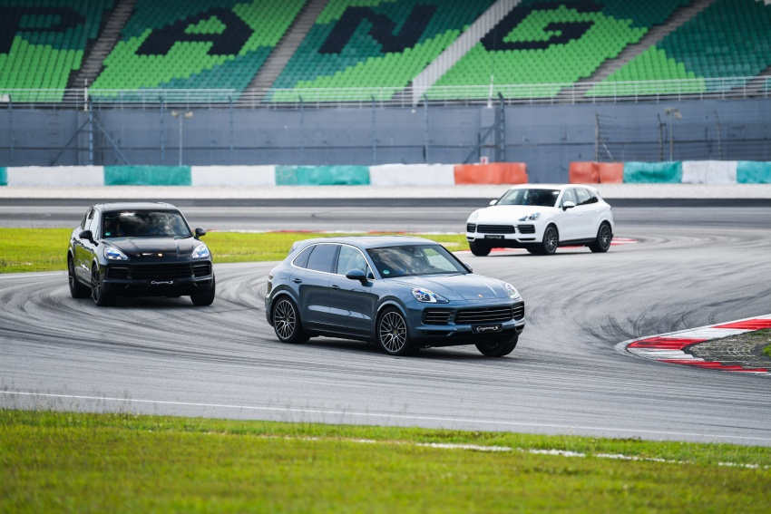 DRIVEN: E3 Porsche Cayenne tested on- and off-road – new brake technology, four-wheel steering and more Image #802650