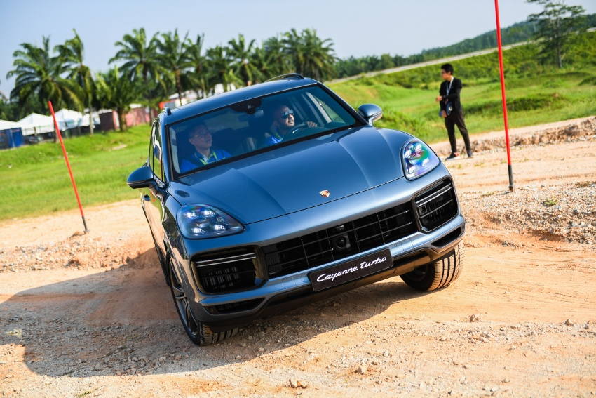 DRIVEN: E3 Porsche Cayenne tested on- and off-road – new brake technology, four-wheel steering and more Image #802628