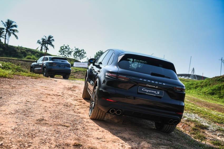DRIVEN: E3 Porsche Cayenne tested on- and off-road – new brake technology, four-wheel steering and more Image #802630
