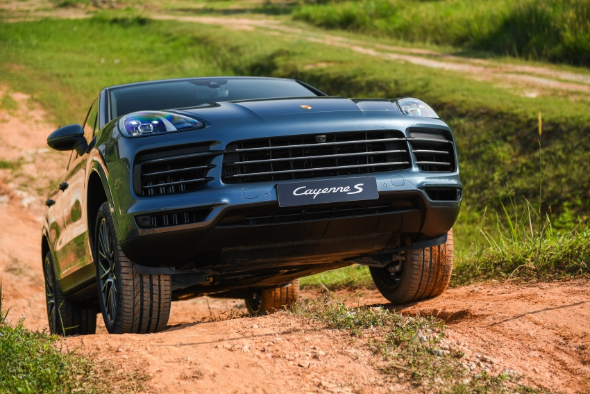DRIVEN: E3 Porsche Cayenne tested on- and off-road – new brake technology, four-wheel steering and more Image #802631
