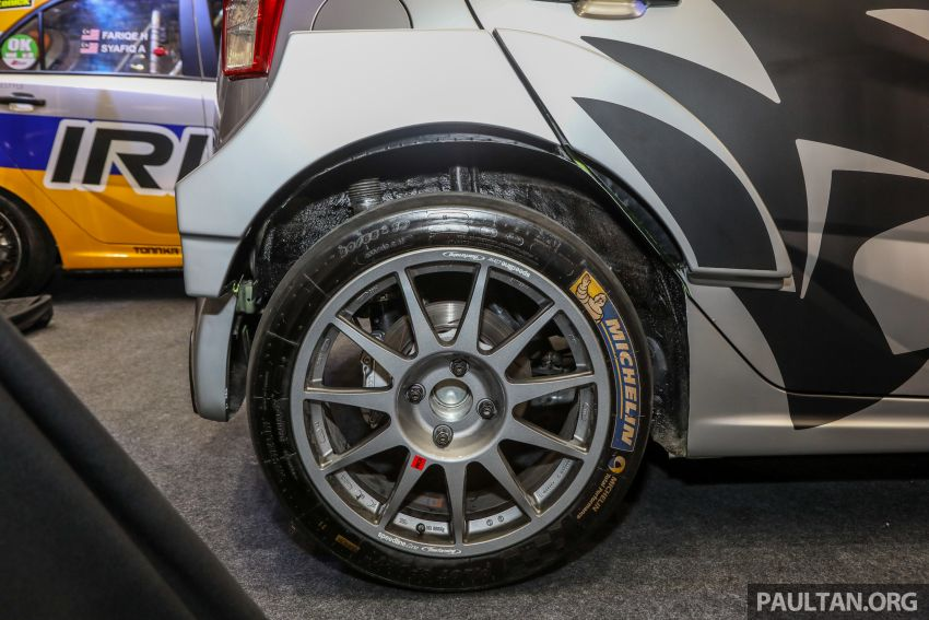 GALLERY: Proton Iriz R5 replica displayed in Malaysia Image #811953