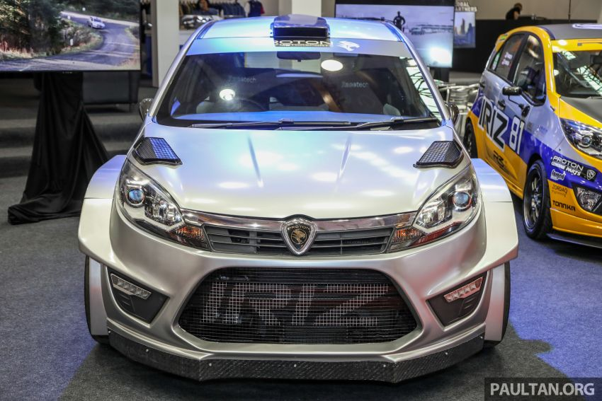 GALLERY: Proton Iriz R5 replica displayed in Malaysia Image #811931