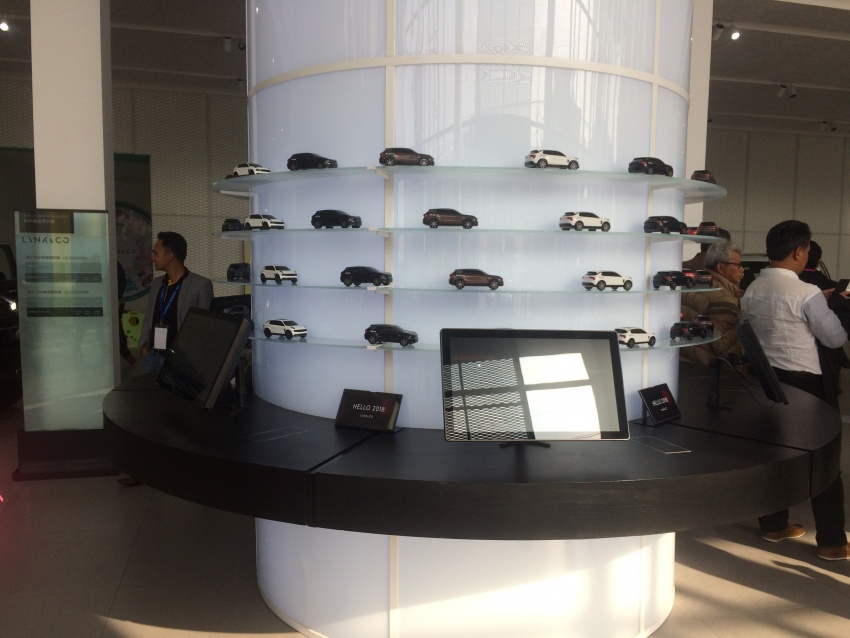Proton dealers wowed by Lynk & Co Shanghai outlet Image #806680