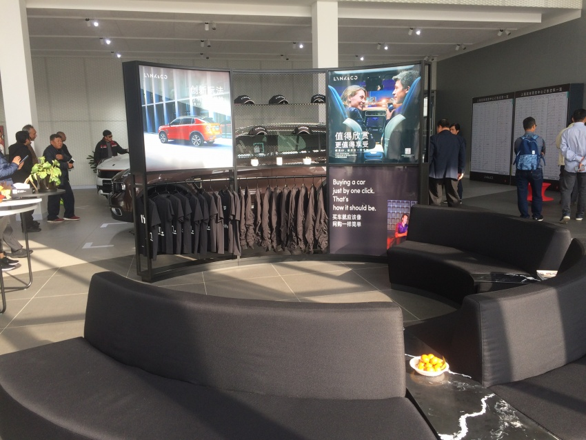 Proton dealers wowed by Lynk & Co Shanghai outlet Image #806683