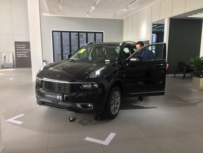 Proton dealers wowed by Lynk & Co Shanghai outlet Image #806685