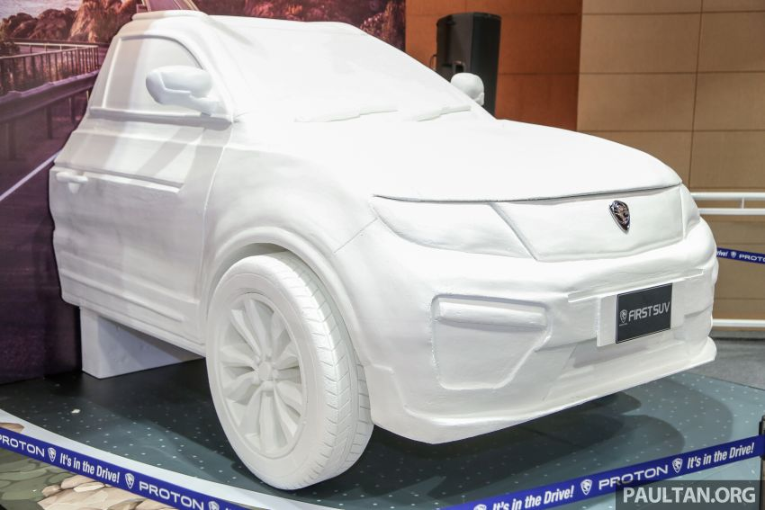 Proton SUV previewed with new details – TGDi engine confirmed; to be based on latest Geely Boyue facelift? Image #812319