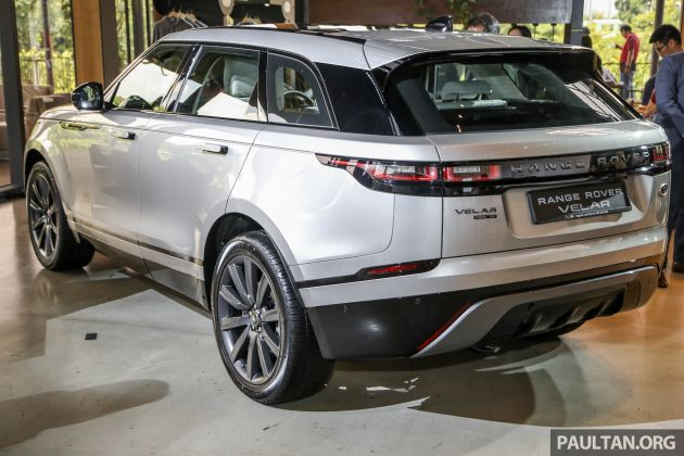 range rover velar officially launched in malaysia three variants offered prices start from rm530k. Black Bedroom Furniture Sets. Home Design Ideas