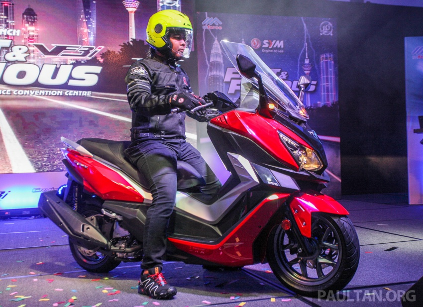 2018 SYM CRUiSYM 250i and Jet 14 scooters launched in Malaysia – priced from RM20,021 and RM7,089 Image #807520