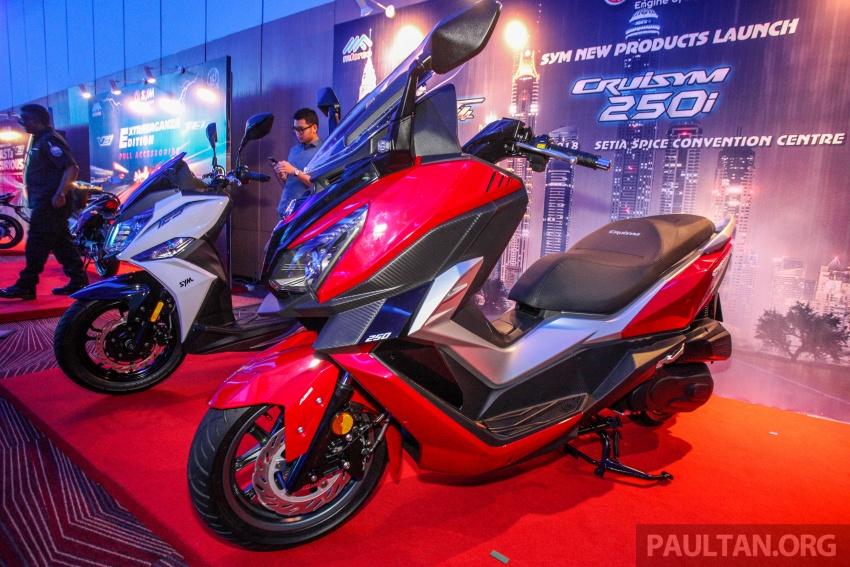 SYM CruiSYM 250i dan Jet 14 tiba di Malaysia – skuter berkapasiti 250 cc dan 125 cc, harga RM20k, RM7k Image #806868