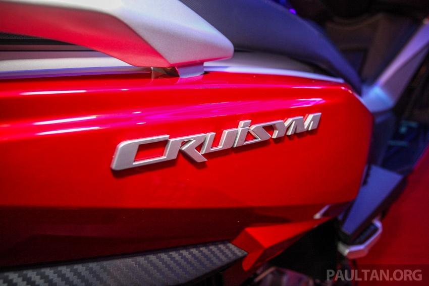 SYM CruiSYM 250i dan Jet 14 tiba di Malaysia – skuter berkapasiti 250 cc dan 125 cc, harga RM20k, RM7k Image #806871