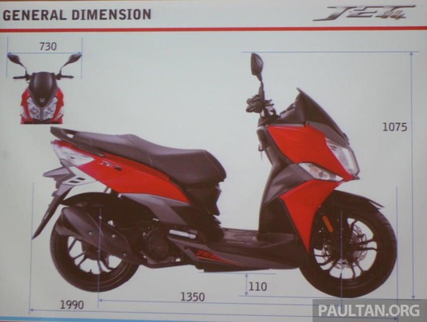 SYM CruiSYM 250i dan Jet 14 tiba di Malaysia – skuter berkapasiti 250 cc dan 125 cc, harga RM20k, RM7k Image #806759