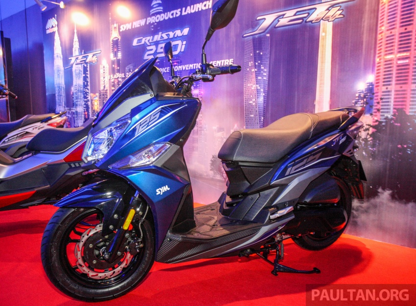 2018 SYM CRUiSYM 250i and Jet 14 scooters launched in Malaysia – priced from RM20,021 and RM7,089 Image #807466