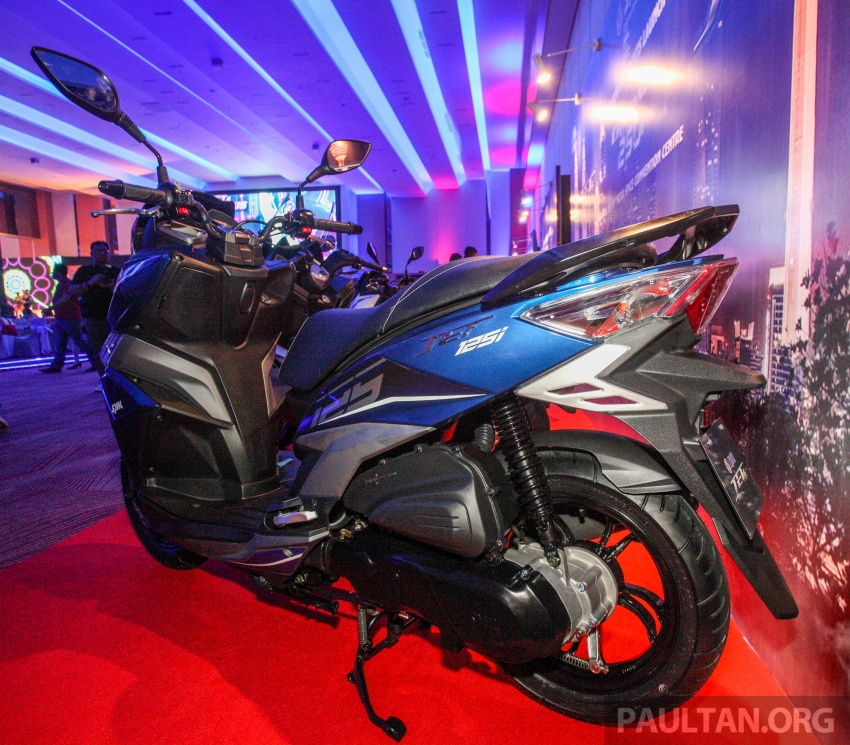 2018 SYM CRUiSYM 250i and Jet 14 scooters launched in Malaysia – priced from RM20,021 and RM7,089 Image #807471
