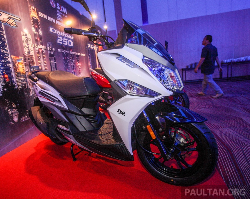 SYM CruiSYM 250i dan Jet 14 tiba di Malaysia – skuter berkapasiti 250 cc dan 125 cc, harga RM20k, RM7k Image #806841